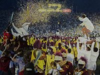"044  TROJAN VICTORY ACRYLIC ON CANVAS 30"" X 40"" $8000"