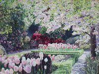 "060  FILOLI GARDENS – SAN FRANCISCO ACRYLIC ON CANVAS 24"" X 30"" $6500"